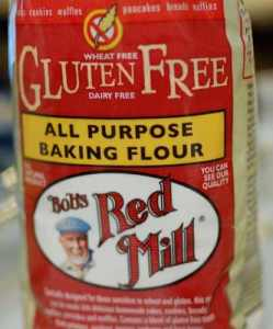 One of the many gluten-free products I use.