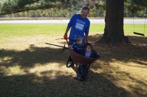 Time to rake!
