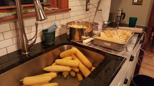 freezing corn