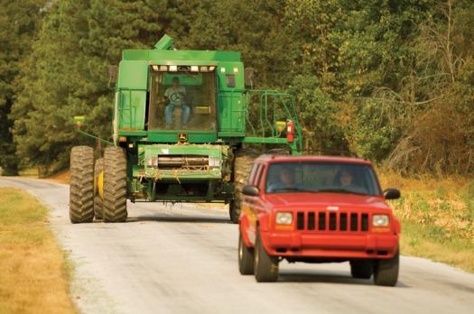 combine down road
