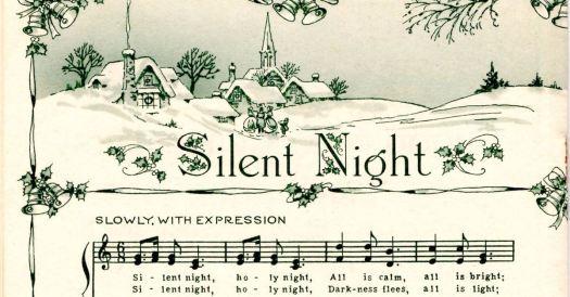 Vintage silent night