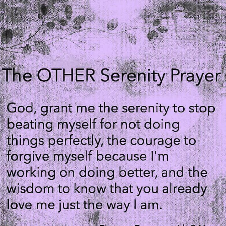 other serenity prayer