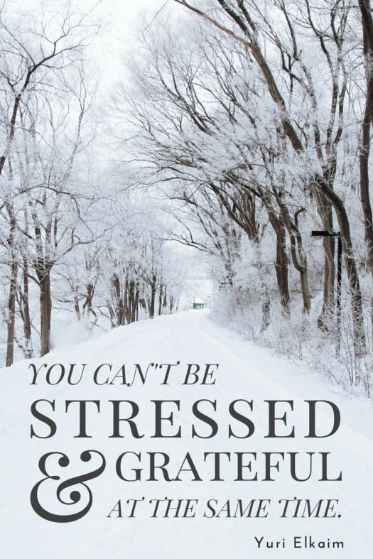 stressed & grateful