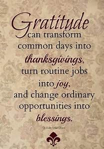 gratitude thanksgiving