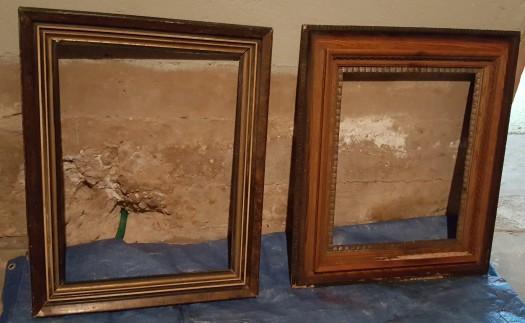 unpainted frames